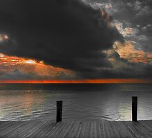 Key Islamorada Sunrise by Randall Nyhof