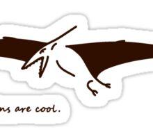 Pteranodons Are Cool (Light Shirt 2) Sticker