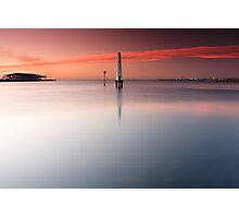 Dawn at Port Melbourne #1 Photographic Print