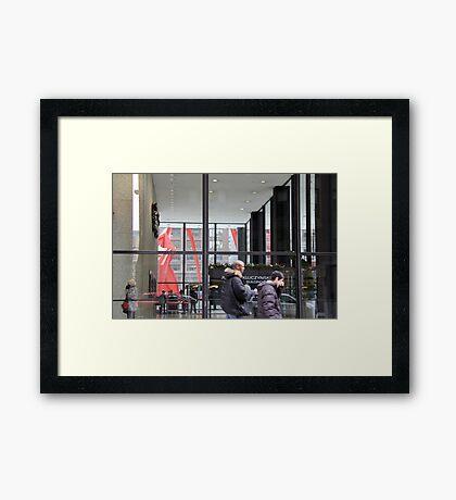 Federal Plaza Chicago Framed Print