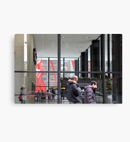 Federal Plaza Chicago Canvas Print