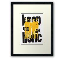 KPOP K-POP HOLIC Framed Print