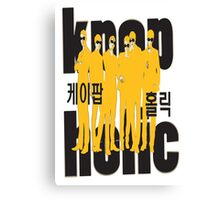 KPOP K-POP HOLIC Canvas Print