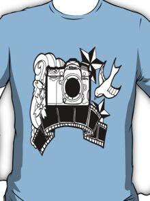 Camera Tattoo T-Shirt