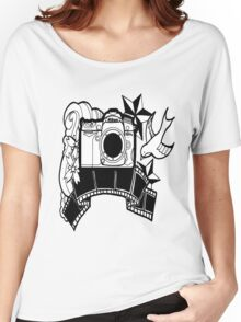 Camera Tattoo Women's Relaxed Fit T-Shirt