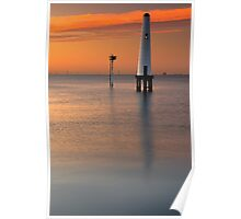 Dawn at Port Melbourne #2 Poster