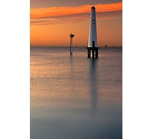 Dawn at Port Melbourne #2 Photographic Print