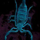 Glowing Sting Scorpion - Robert Chester Lee by Robert Chester Lee