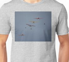 Temora Airshow 2008 - Formation Crossover Unisex T-Shirt