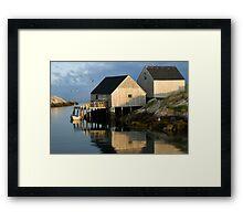Peggy's Cove Fisherman's Wharf 057 Framed Print