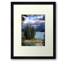 Spirit Island Again Framed Print