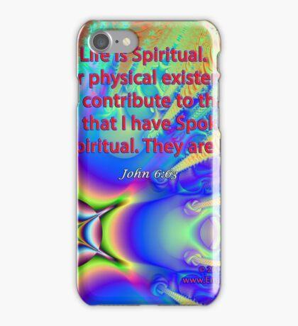 Life Is Spiritual iPhone Case/Skin