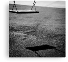 swing of shadows Canvas Print