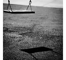 swing of shadows Photographic Print