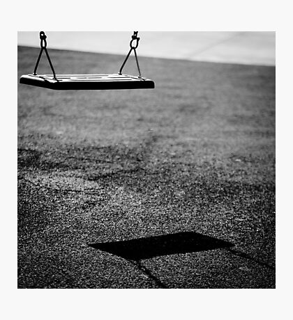 swing of shadows Photographic Print