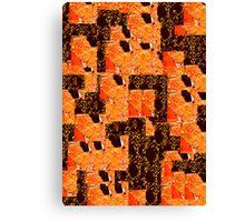 Red Desert Assemblage Canvas Print