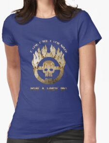 Mad Max Skull Womens Fitted T-Shirt
