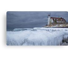 Point Betsie Lighthouse 090 Canvas Print