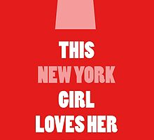 this new york girl loves her shopping by teeshirtz