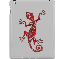 Lizard Tattoo Red iPad Case/Skin