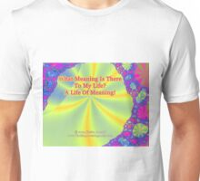 A Life Of Meaning Unisex T-Shirt