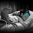 Holly and Cat - Breakfast at Tiffany&#x27;s by Regan Hansen