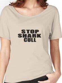 Stop Shark Culling Sticker & Shirt Women's Relaxed Fit T-Shirt