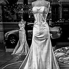 Window Display Window Brides BW by Randall Nyhof