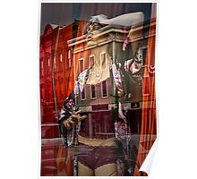 Window Maniquin Oh My Color Poster