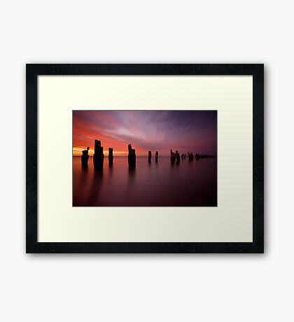 Air, Earth, Water, Fire Framed Print