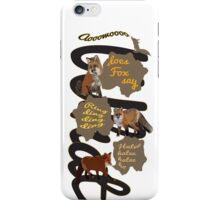 Ring ding ding ding  iPhone Case/Skin