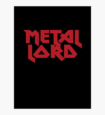 Heavy Metal Lord - Rock Music T-Shirt & Top Photographic Print