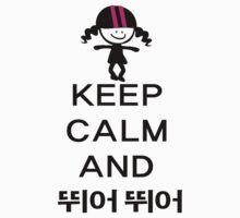 Keep calm and jump jump kpop by cheeckymonkey