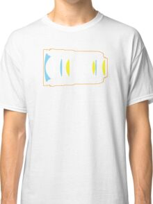 Photographer camera lens construction Classic T-Shirt