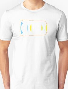 Photographer camera lens construction T-Shirt