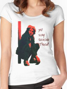 Toecutter is the sh1t! Women's Fitted Scoop T-Shirt