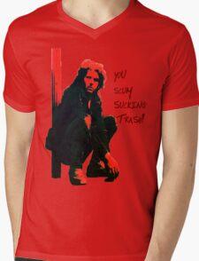 Toecutter is the sh1t! Mens V-Neck T-Shirt