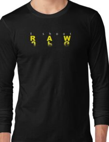 Raw shooter photographer Long Sleeve T-Shirt