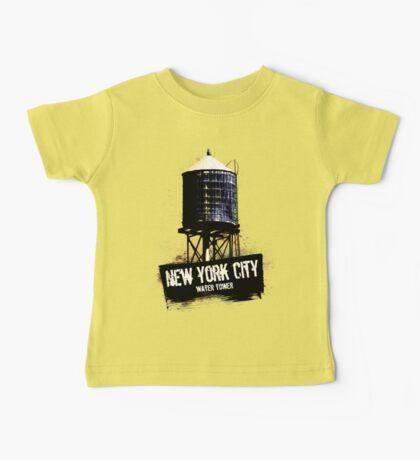 New York City Water Tower Baby Tee