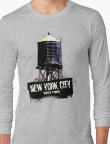 New York City Water Tower Long Sleeve T-Shirt