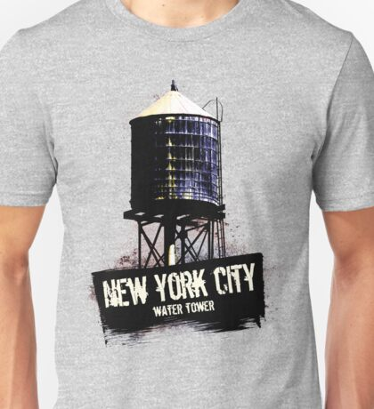 New York City Water Tower Unisex T-Shirt