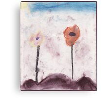 native flower childs play Canvas Print