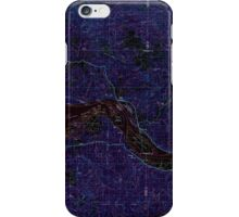 USGS Topo Map Oregon Astoria 283048 1981 100000 Inverted iPhone Case/Skin