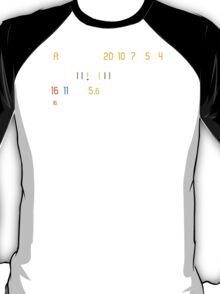 Manual Lens Photographer T-Shirt