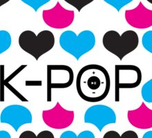 K-POP holic Sticker