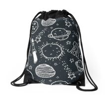 Space Doodles Drawstring Bag