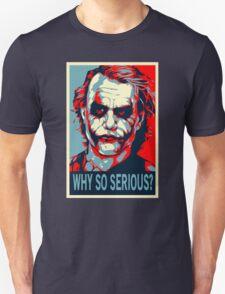 Batman - Vote for Joker Why So Serious T-Shirt