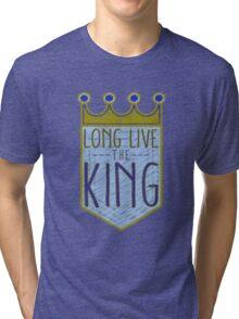 Kansas City Royals - Crown Tri-blend T-Shirt