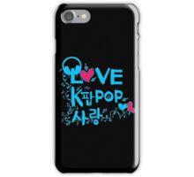 LOVE kpop SARNAG iPhone Case/Skin