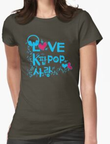 LOVE kpop SARNAG Womens Fitted T-Shirt
